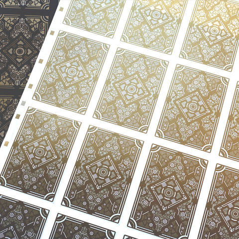 Utopia Uncut Sheet (Gold)
