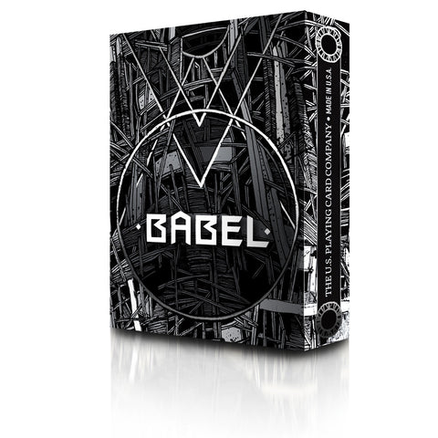Babel Playing Cards : Black edition