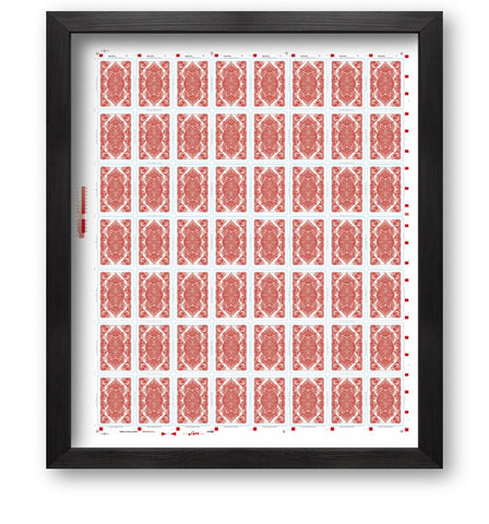 Bicycle Asura Uncut Sheet (Red)