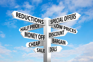 Benefits of Bargains - How Discounts Can Result In Higher Sales