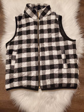 Load image into Gallery viewer, plaid vest