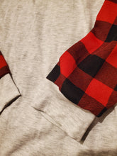 Load image into Gallery viewer, Red plaid long sleeve
