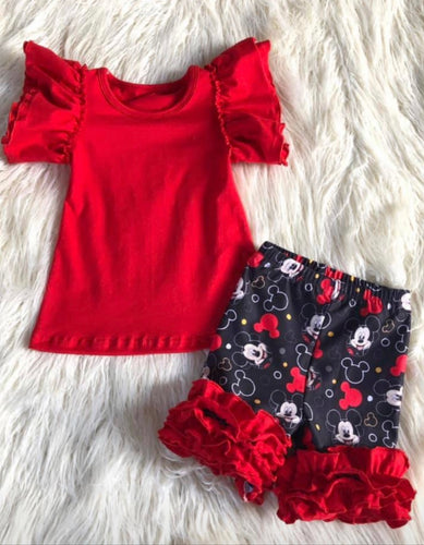 Mickey short set