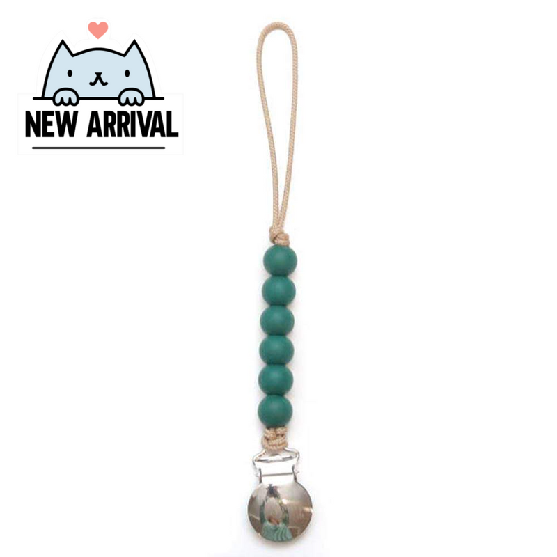 IN STOCK: Pacifier Clip - Liam - Pine