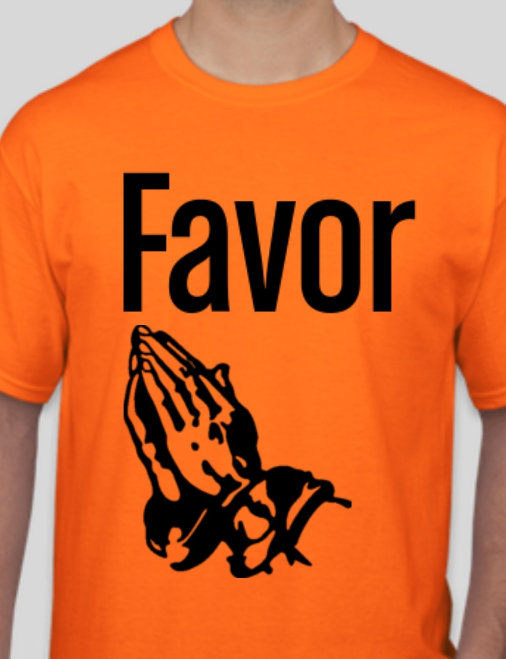 Favor Safety Orange T-shirt