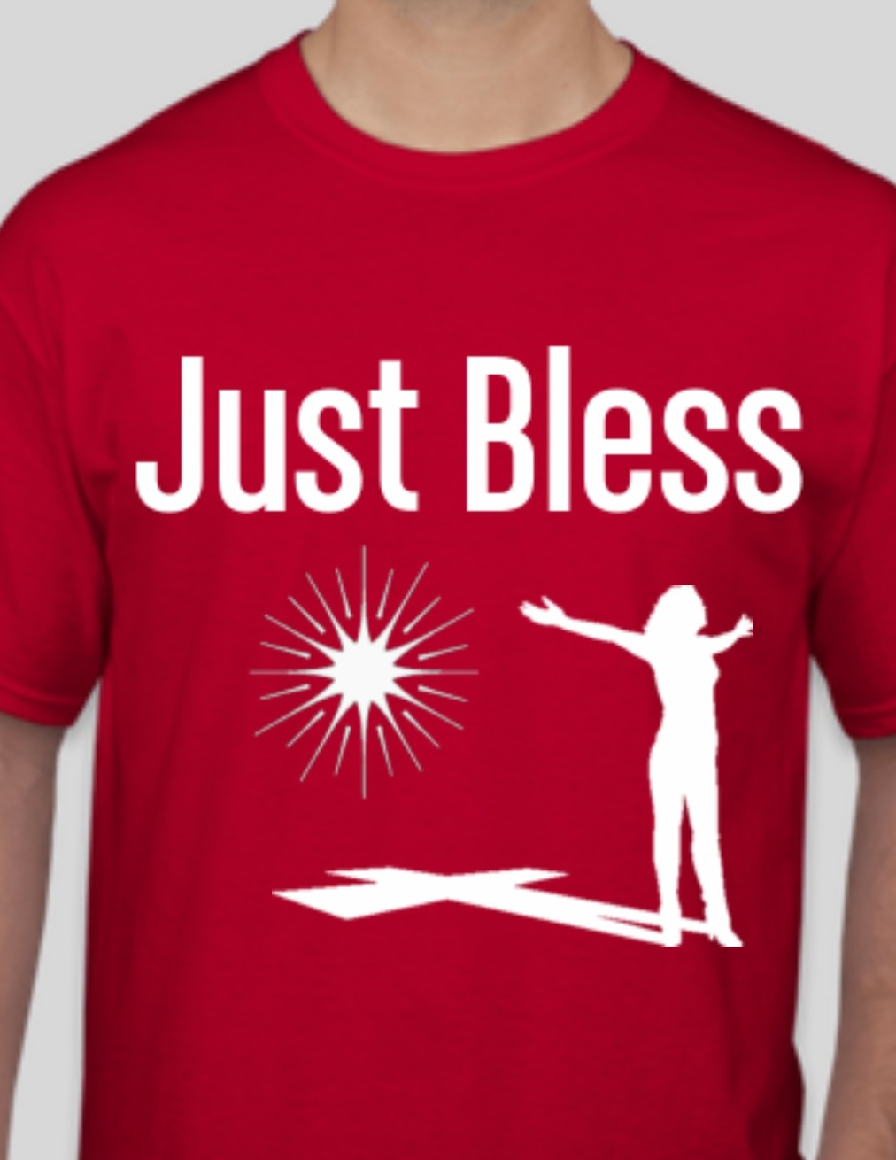 Women's Just Bless Red T-shirt