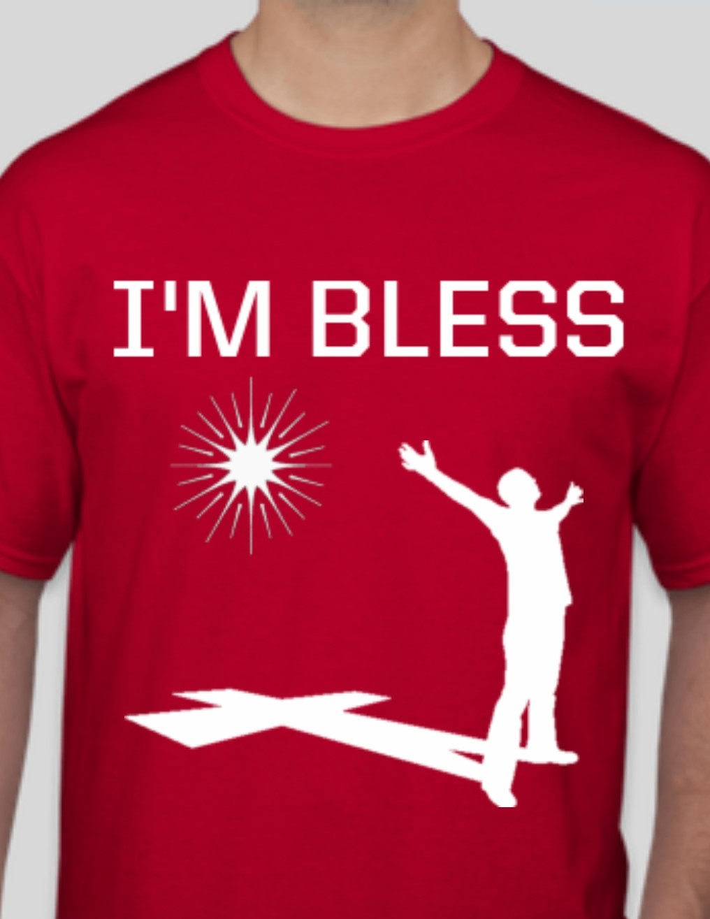 Men's I'm Bless Red T-shirt
