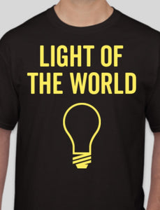 LOTW Black and Yellow T-shirt