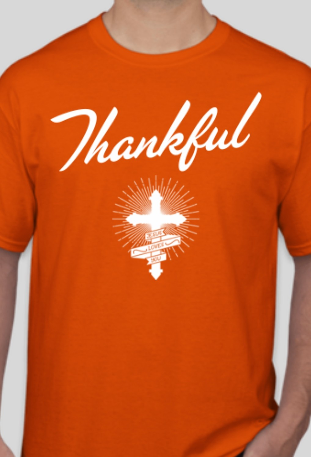 Thankful Orange T-shirt