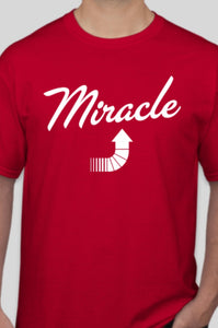 A Miracle Red T-shirt