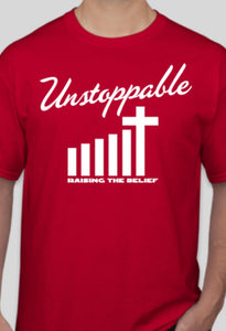 Unstoppable Red T-shirt two