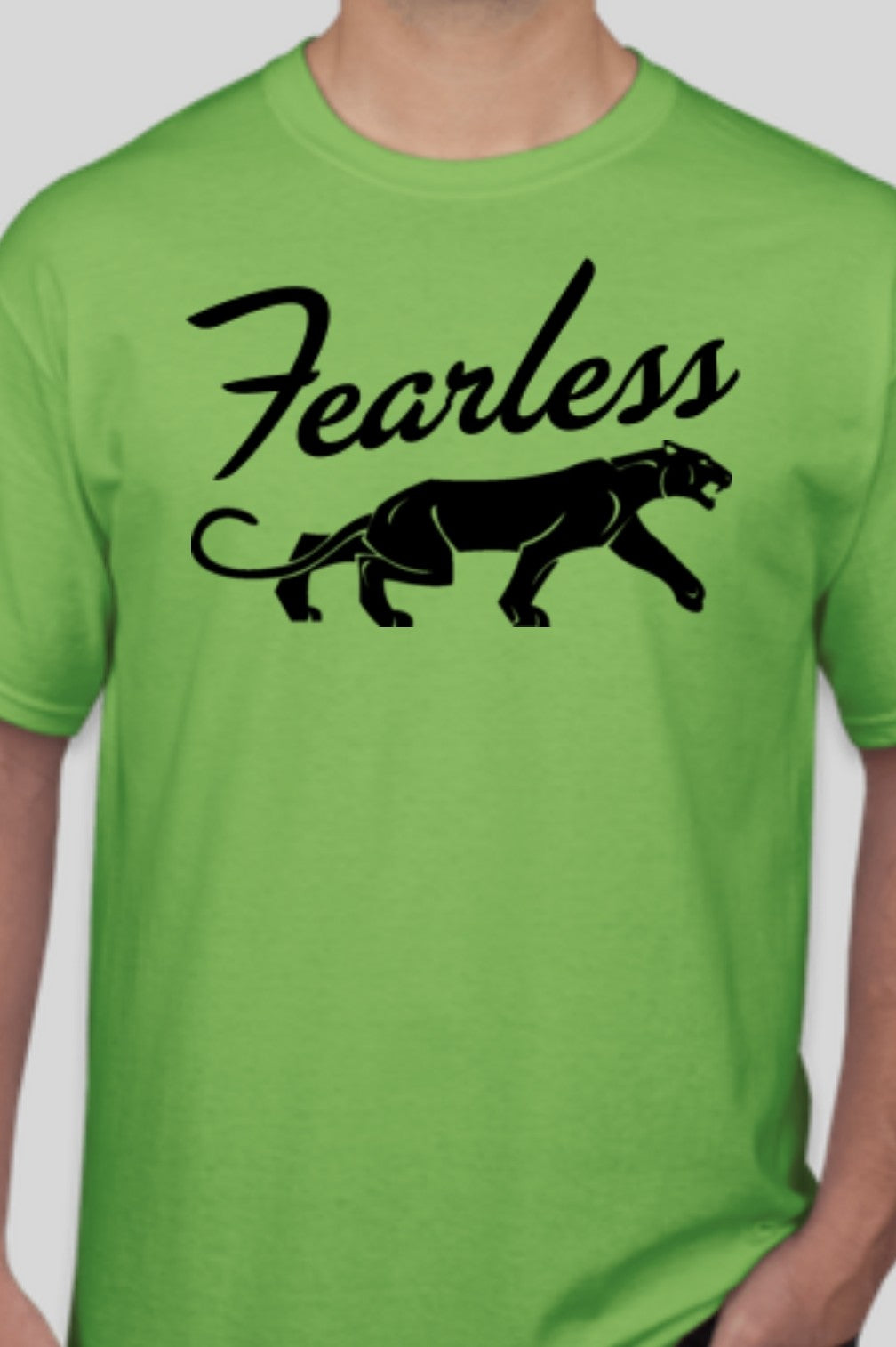 Fearless Lime T-shirt