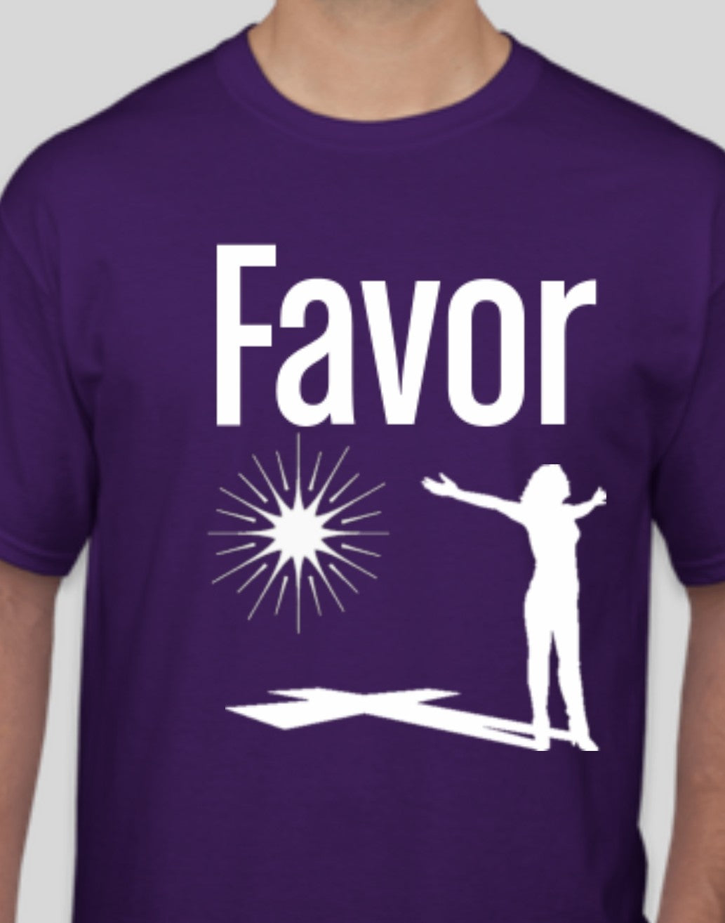 Women's Favor Purple T-shirt