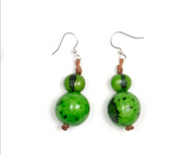 Tagua Semilla Earrings