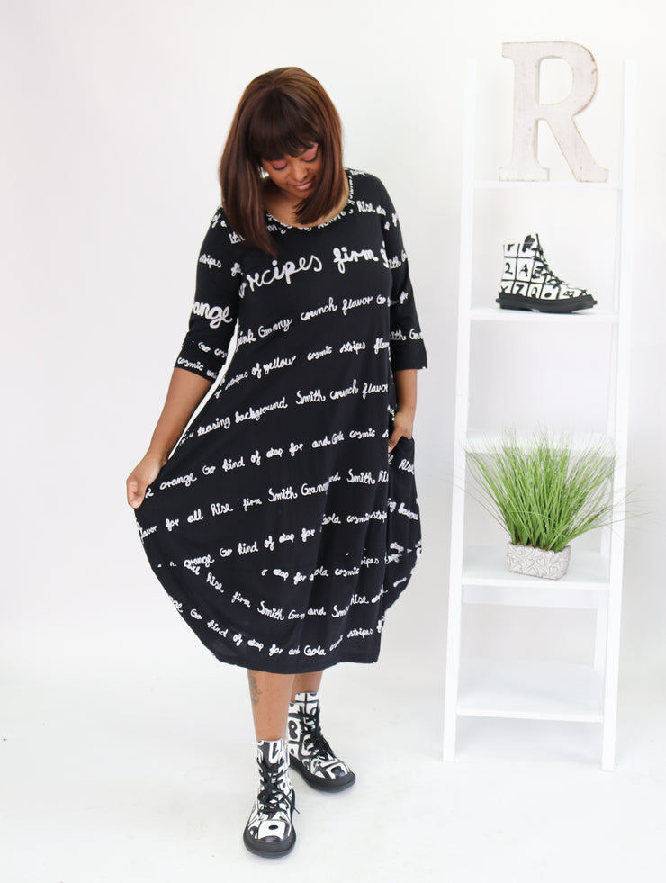 Rundholz Script Dress - Essential Elements Chicago