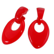 Zsiska Colourful Teardrop Earring