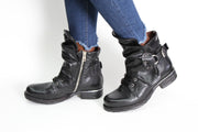 A.S. 98 Simon Nero Black Boot