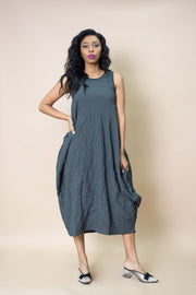Amma Plaid Tank Dress