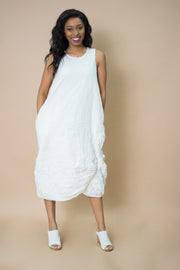 Amma Crinkle Crepe Dress