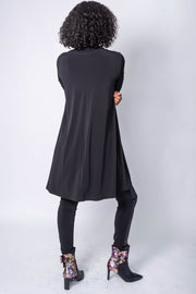Clara S Cutout Turtleneck Tunic