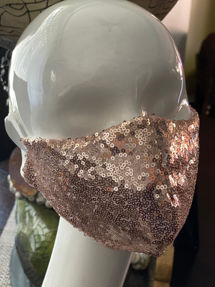 Essential Sequin Mask- 2 Colors