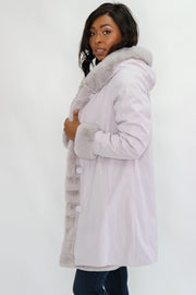 Nikki Jones Lola Faux Fur Reversible Coat
