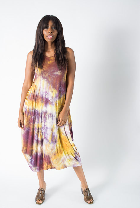 Lia Bella Tie-Dye Tank Dress