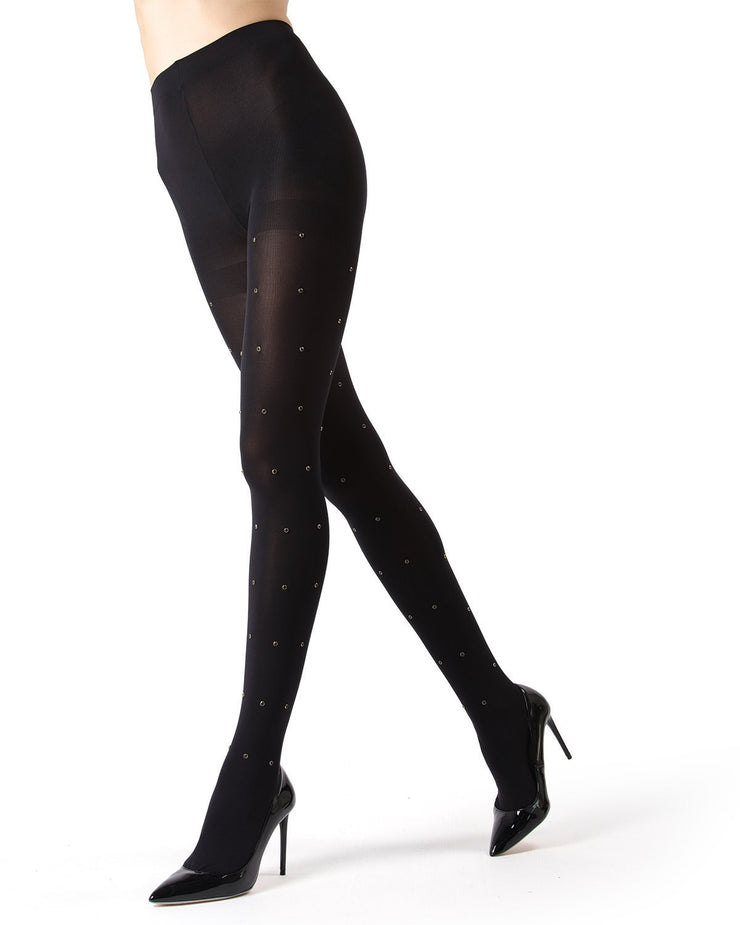 MeMoi Black Diamond Tights