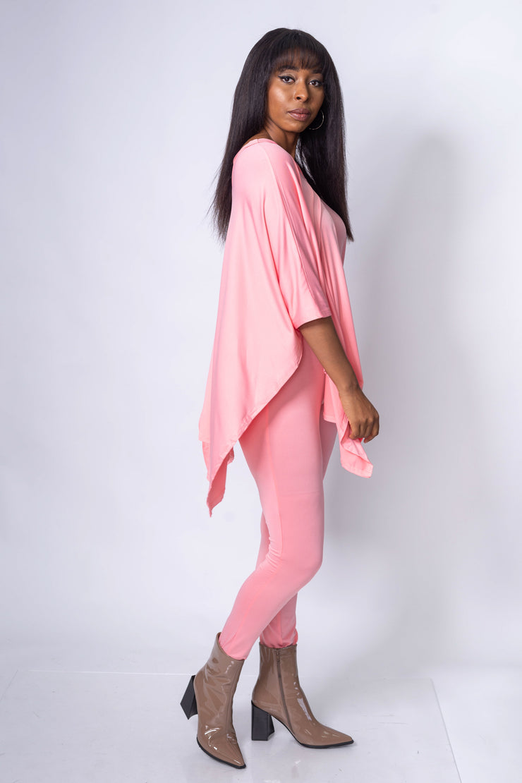 2 Piece Lounge Set Pink