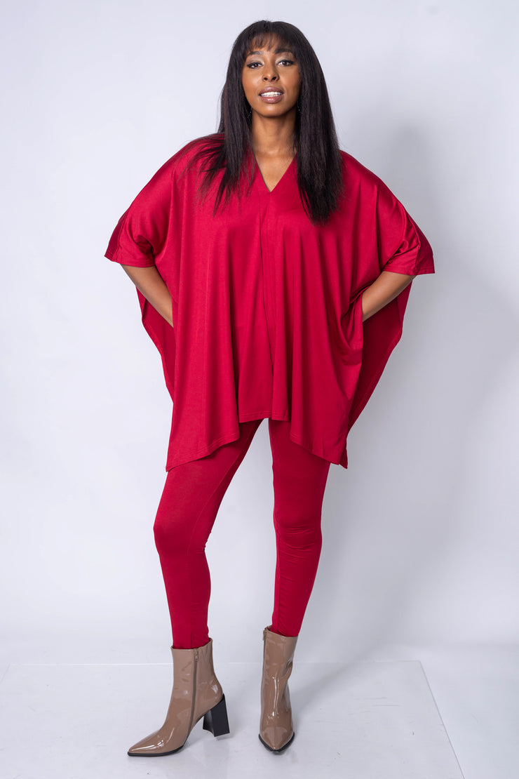 2 Piece Lounge Set Red