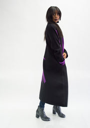 Moyuru Wool Graphic Coat