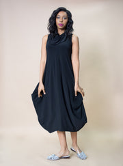 Sympli Sleeveless Dream Dress Black