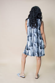 Sympli Brushstroke Trapeze Dress