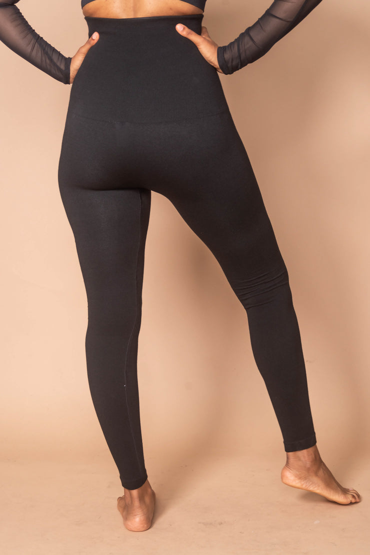 High Waist Cotton Legging