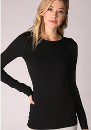 Seamless Crew Neck Top