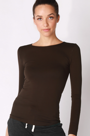 Seamless Crew Neck Top - Essential Elements Chicago