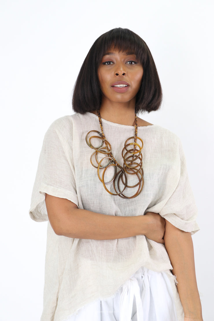 Essential Rings Necklace - Essential Elements Chicago