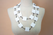 Jianhui 1 Single Strand Squares Necklace - Essential Elements Chicago
