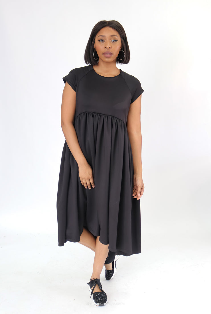 Just Sofia Neoprene Babydoll Dress - Essential Elements Chicago