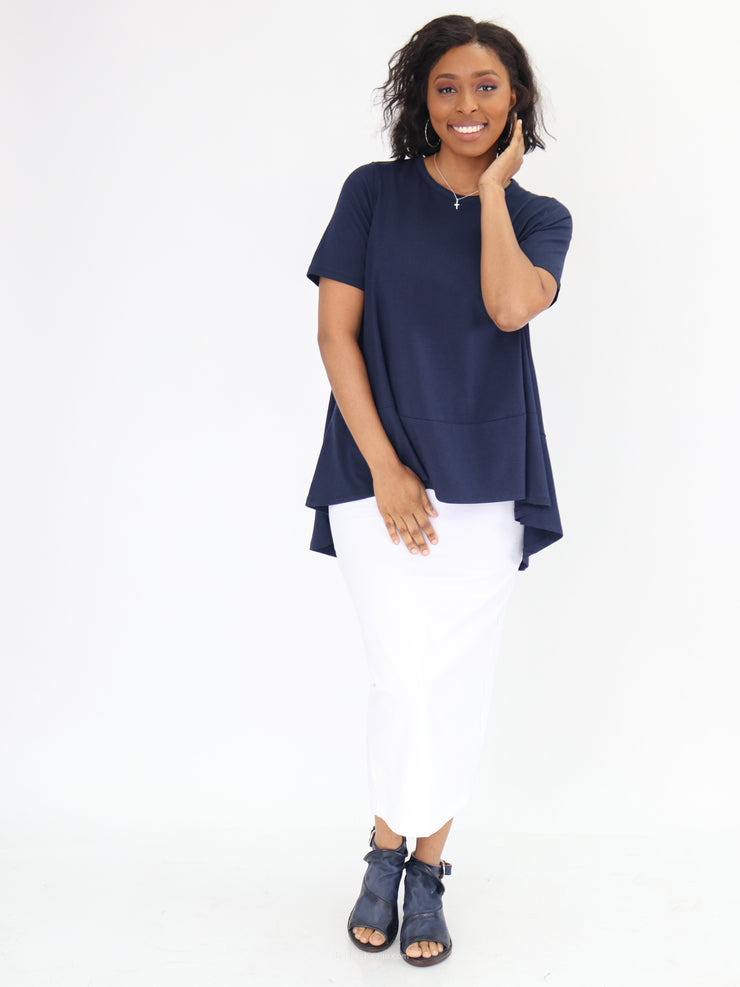 Kedem Sasson Short Sleeve Swing Top - Essential Elements Chicago