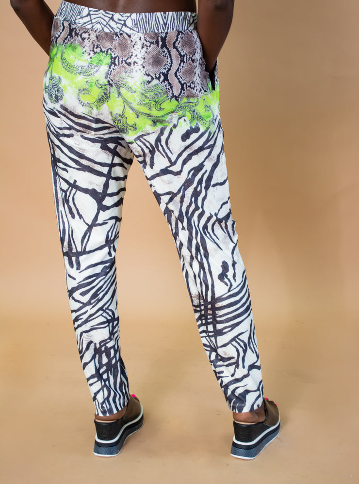 Sole Dione Mixed Print Pants