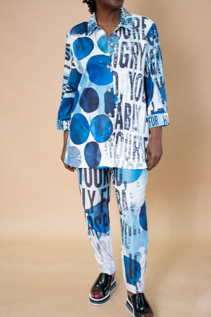 Sole Dione Mixed Print Jacket