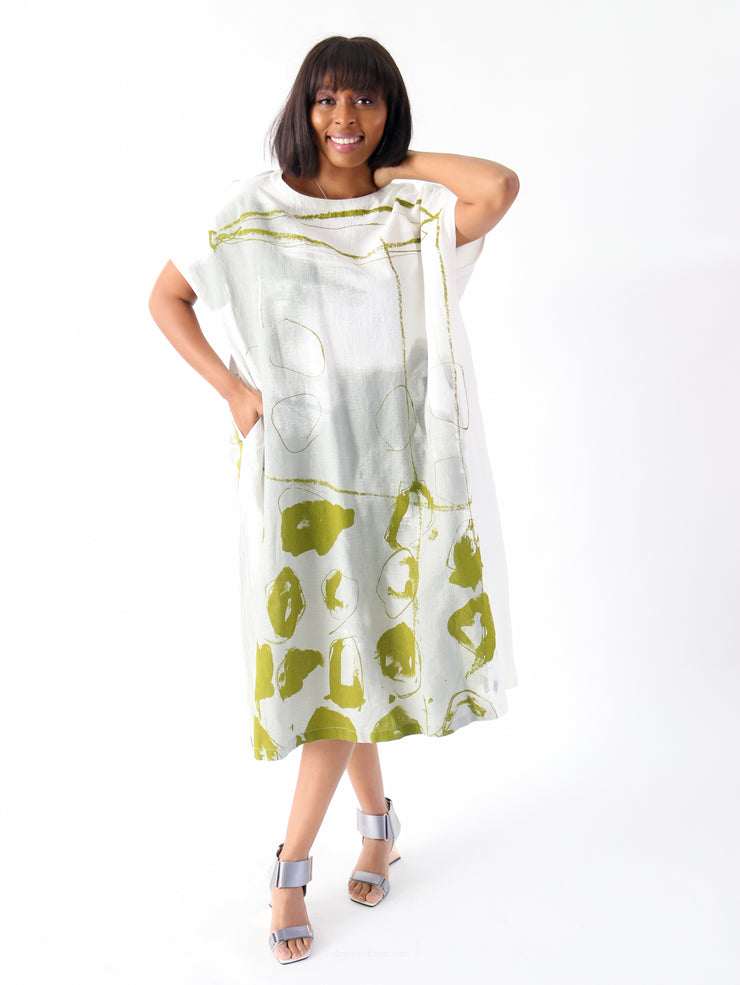 Moyuru Crepe Dress - Essential Elements Chicago