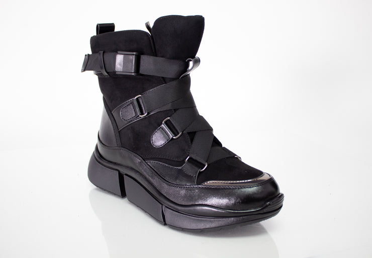Spring Step Kenny Boot Black