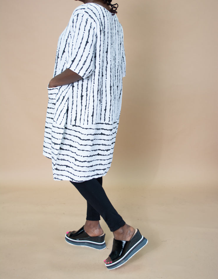 Transparente Stripe Tunic