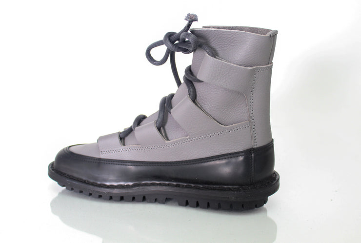 Women's Trippen Proof Boot Grey with Black