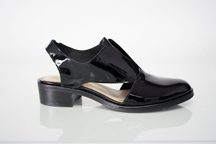 Unity in Diversity Virtuoso Black Patent Leather Loafer