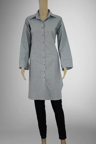 Grey Shirt Kurthi