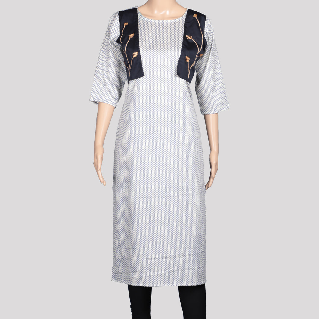 Hand Worked Jacket Kurti