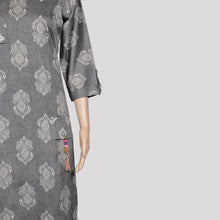 Load image into Gallery viewer, Ash Pocket Hanging Kurthi